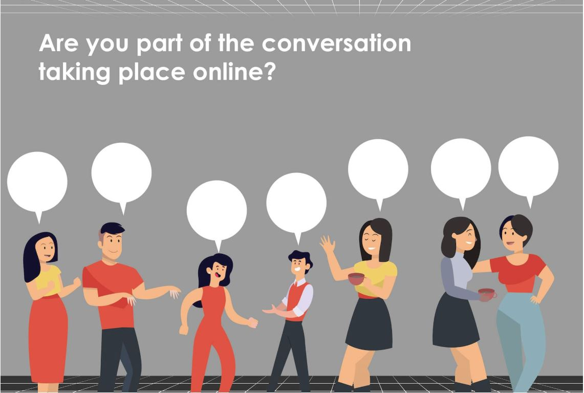 How to Join the Conversation Online