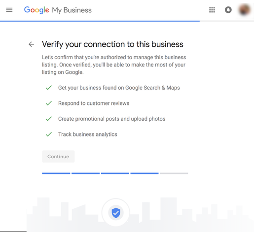 Local SEO - Verify Your Connection to a Business Image